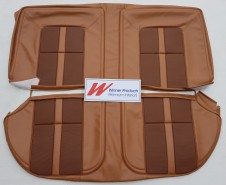 HOLDEN HJ GTS MONARO SEDAN GAZELLE WITH TAN GOLFBALL INSERT SEAT COVER SET (TRIM CODE 64)