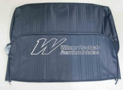 HOLDEN HR UTE SEAT COVER SEAT TRIM CODE DARK BLUE trim code F01