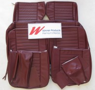 HOLDEN PREMIER EH SEAT COVER SET WALDOF RED WAGON