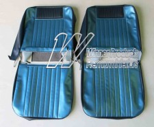 HOLDEN EH SPECIAL CUSTOM BUCKET SEATS ( TRIM CODE C38 ) SAXE & COLUMBINE BLUE