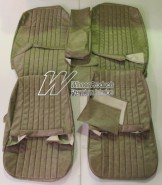 HOLDEN HK PREMIER SEAT COVER SET BUCKSKIN BEIGE (TRIM CODE 18X) FIXED BUCKET SEATS