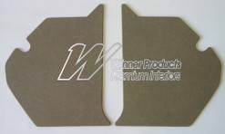 HOLDEN HK MONARO KICK PANEL SET BUCKSKIN BEIGE TRIM CODE 18X