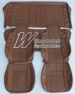 HOLDEN LX SLR TORANA SEAT COVER SET TAN 67X
