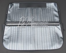 HOLDEN EH BENCH SEAT COVER SET ALLIGATOR & ELEPHANT GREY (TRIM CODE C36)
