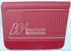 HOLDEN HK KINGSWOOD SEDAN DOOR TRIMS  WITH PREMIER (EXCHANGE) TOPS