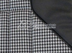 HOLDEN HT GTS MONARO COUPE SEAT COVER SET BLACK HOUNDSTOOTH (TRIM CODE 10Y)