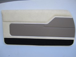 HOLDEN HJ MONARO GTS COUPE CHAMOIS / COVERT TRIM CODE 60 DOOR TRIM SET(EXCHANGE METAL TOPS)