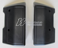 HOLDEN HK HT HG MONARO SET OF 2 FRONT ARM RESTS BLACK (TRIM CODE 10X 10Y)