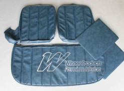 HOLDEN  HG KINGSWOOD UTE  SEAT COVER SET  TWILIGHT BLUE  TRIMCODE 14E