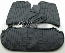 HOLDEN HK PREMIER SEAT COVER SET BLACK (TRIM CODE 10X)  (RECLINING BUCKET SEATS)