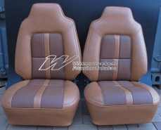 HJ HX MONARO INTERIOR GAZELLE WITH TAN GOLF BALL INSERT (TRIM CODE 64)