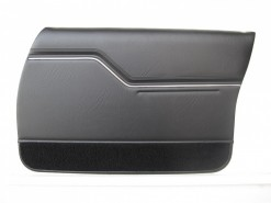 HOLDEN HX PREMIER SEDAN DOOR TRIM SET SLATE TRIM CODE 18X (METAL TOP EXCHANGE)