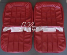 HOLDEN HR PREMIER SEAT COVER SET (FRONT ONLY) GOYA RED 12X
