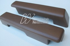 HOLDEN  HX SANDMAN FRONT ARM RESTS TAN (TRIM CODE 67V)