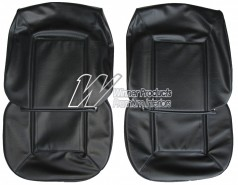 HOLDEN HQ SANDMAN SEAT COVER SET BLACK LONG GRAIN (TRIM CODE 30X)
