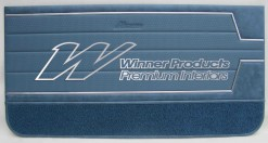 HOLDEN HT MONARO GTS  DOORTRIM SET TRIM CODE 14X TWILIGHT LIGHT BLUE