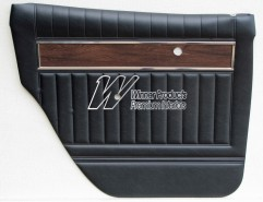 HOLDEN HK PREMIER DOOR TRIM SET BLACK (METAL TOP EXCHANGE)