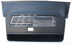 FORD XC COBRA DOOR TRIM SET BLACK (NO TOPS) TRIM CODE B