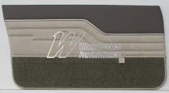 HOLDEN LX TORANA SEDAN DOOR TRIM SET CHAMOIS WITH COVERT GOLFBALL (TRIM CODE 60V)
