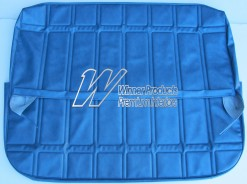 HOLDEN HT BELMONT UTE FRONT BENCH SEAT COVERS TWILIGHT BLUE (TRIM CODE 14A)