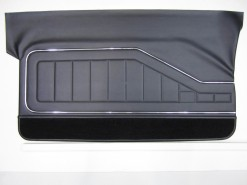 HOLDEN HQ COUPE GTS DOOR TRIM SET BLACK (NO TOPS) TRIM CODE 10