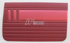 HOLDEN EH SPECIAL DOOR TRIM SET GARNET & BOLERO RED TRIM CODE(C37)