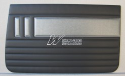HOLDEN EH SPECIAL DOOR TRIM SET ALLIGATOR & ELEPHANT GREY TRIM CODE(C36)