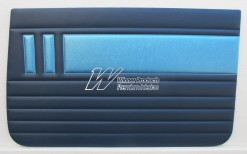 HOLDEN EH SPECIAL DOOR TRIM SET SAXE & COLUMBINE BLUE TRIM CODE(C38)