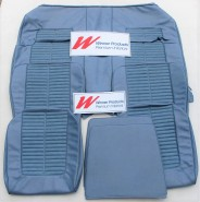 HK MONARO SEAT COVER SET JACANA BLUE TRIM CODE 14Z