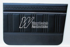 HG KINGSWOOD UTE DOOR TRIMS BLACK
