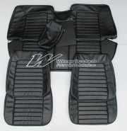 VALIANT VC SEDAN SEAT COVER SET SET BLACK