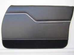HOLDEN HZ MONARO GTS SEDAN DOOR TRIM SET SLATE (METAL TOP EXCHANGE)