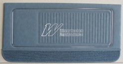 HK MONARO GTS DOOR TRIM SET JACANA BLUE TRIM CODE 14Z