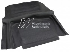 HOLDEN HK KINGSWOOD RUBBER BOOT MAT BLACK
