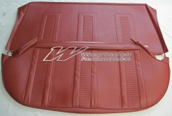 HOLDEN EH BENCH SEAT COVERS (BOLERO RED)