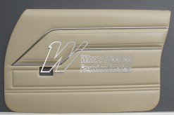 HOLDEN HQ KINGSWOOD DOOR TRIM SET DOESKIN TRIM CODE 38E (METAL TOP EXCHANGE)