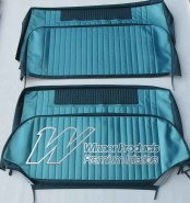 HOLDEN EH SPECIAL SEDAN  SEAT COVER SET  TRIM CODE TURQUIOSE MIST