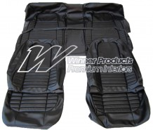 VALIANT CHARGER VH 770 SEAT COVER SET BLACK