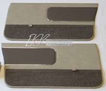 HOLDEN LH TORANA SLR SEDAN DOOR TRIM SET CHAMOIS/COVERT (TRIM CODE 60)