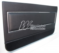 HOLDEN LJ TORANA GTR XU1 COUPE DOOR TRIM SET (40X)BLACK ROEBUCK