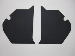 HOLDEN HT PREMIER KICK PANEL SET BLACK TRIM CODE 10X