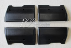 HOLDEN HT HG  KINGSWOOD SEDAN ARM REST SET OF 4 BLACK (TRIM CODE 10X 10Y 10Z)
