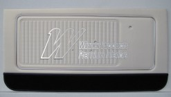 HOLDEN HK MONARO GTS DOOR TRIM SET PARCHMENT 18Y