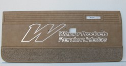 VALIANT CHARGER VH 770 DOOR TRIM SET PARCHMENT