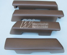 HOLDEN HJ HX HZ  KINGSWOOD SEDAN ARM REST SET OF 4 TAN (TRIM CODE 67V)