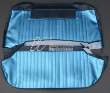HOLDEN EH BENCH SEAT COVER SET SAXE & COLUMBINE BLUE (TRIM CODE C38)