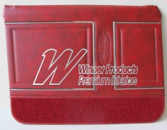 HOLDEN HG PREMIER DOOR TRIM SET SEDAN COLOUR BOROQUE RED  TRIM CODE 12R (METAL TOP EXCHANGE)