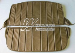 HOLDEN HG KINGSWOOD UTE SEAT COVER SET ANTIQUE GOLD  TRIM CODE 11E