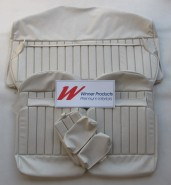 HOLDEN HQ PREMIER WAGON SEAT COVER SET FLAX (TRIM CODE 18R)
