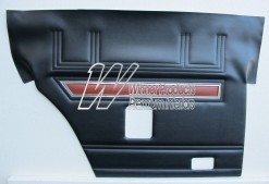 FORD XW GT DOOR TRIMS SET SEDAN BLACK (NO TOPS) TRIM CODE B